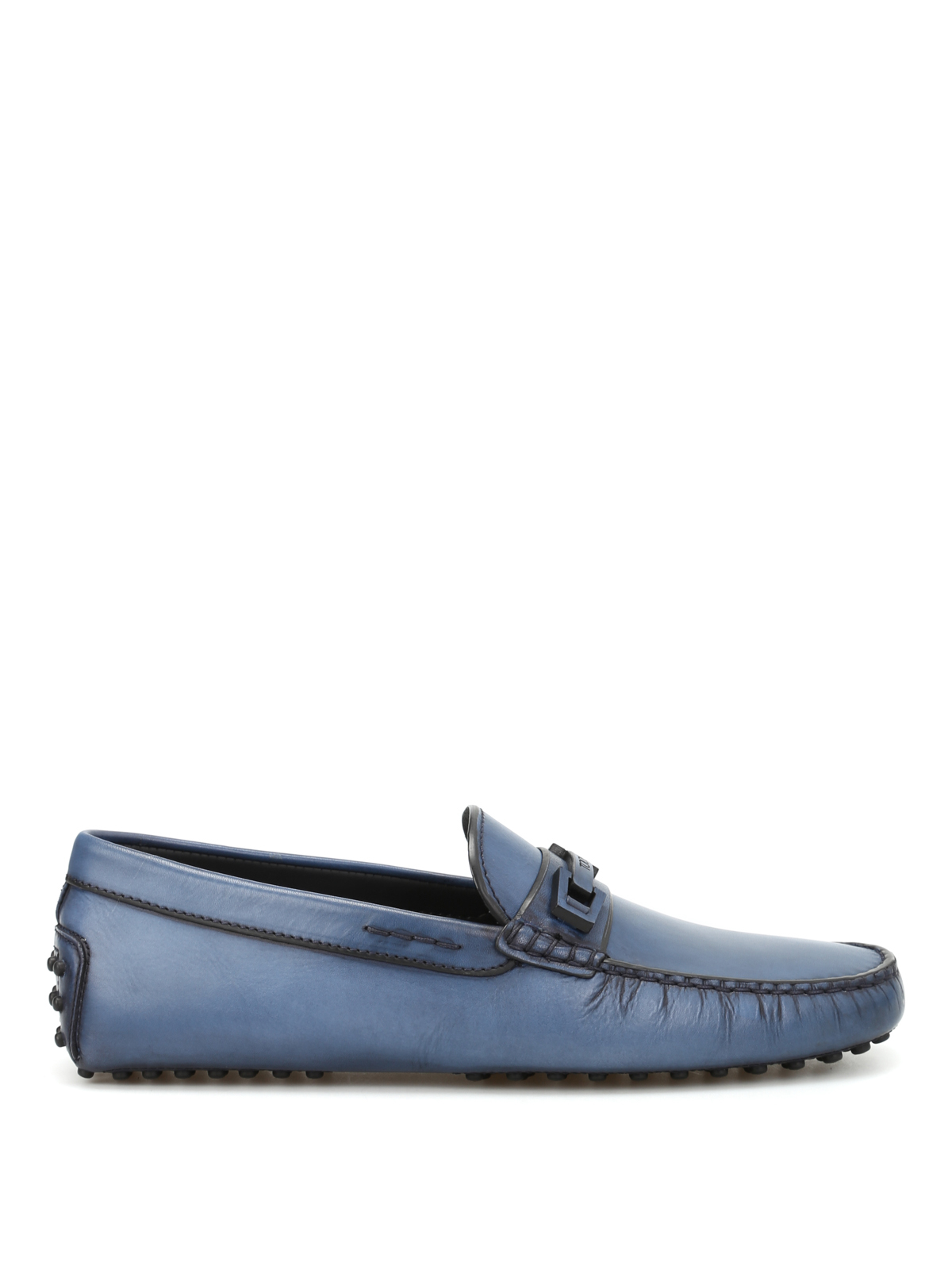 Macro Clamp Country leather loafers