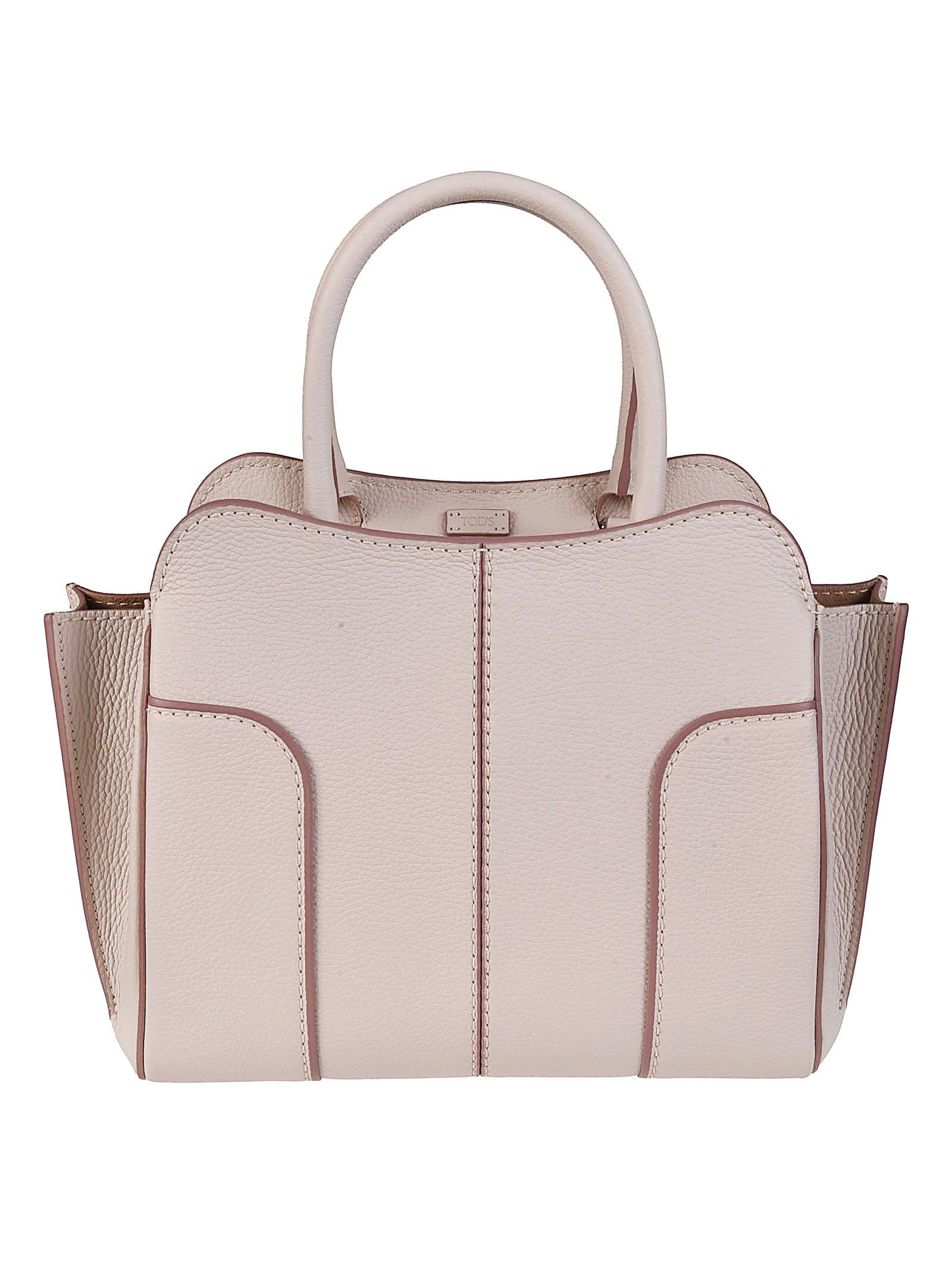 Tod's Light pink leather small tote OLbYlarsL