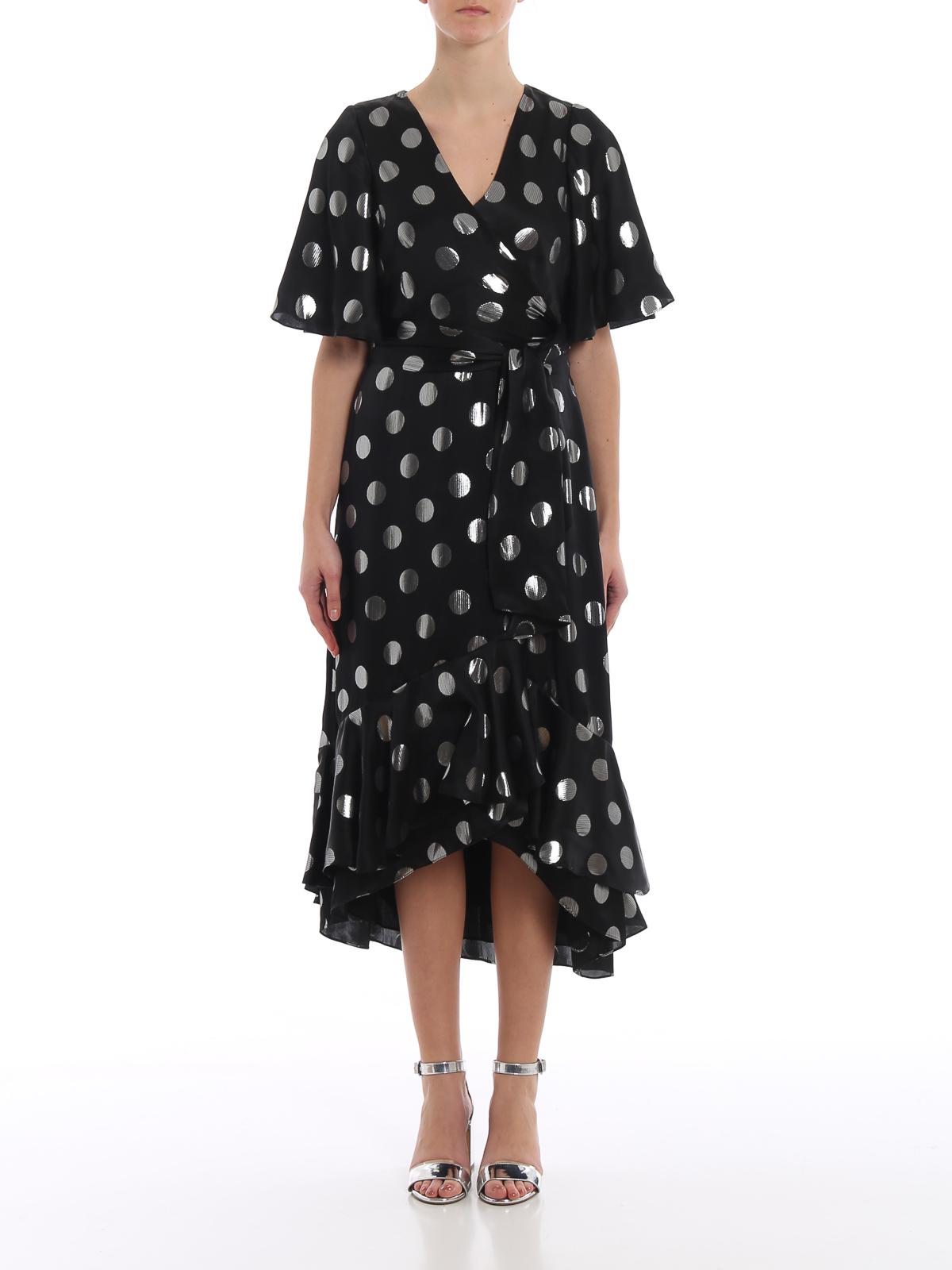 Sareth polka dot silk jacquard dress DIANE VON FURSTENBERG | 11 | 12447BLKSV