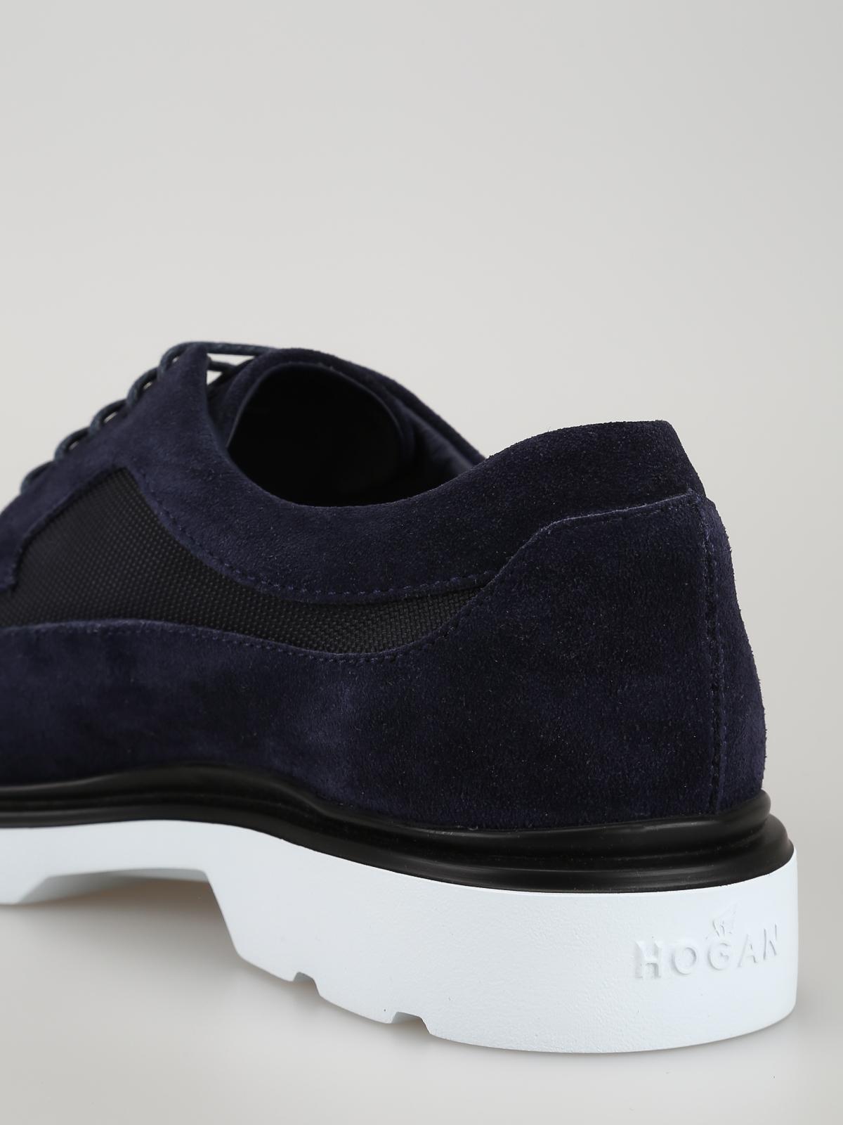 Blue ultralight lace-up Derby shoes  HOGAN | 120000001 | HXM3930BH7267A4460