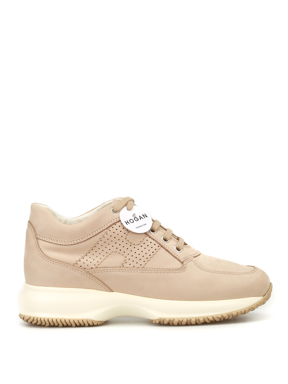 Perforated H Interactive nude shoes <br>
