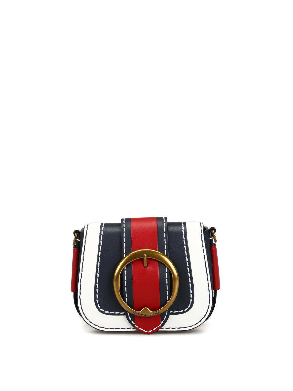 bb66889172 Lennox Mini tricolour leather shoulder bag - POLO RALPH LAUREN - Paolo  Fiorillo
