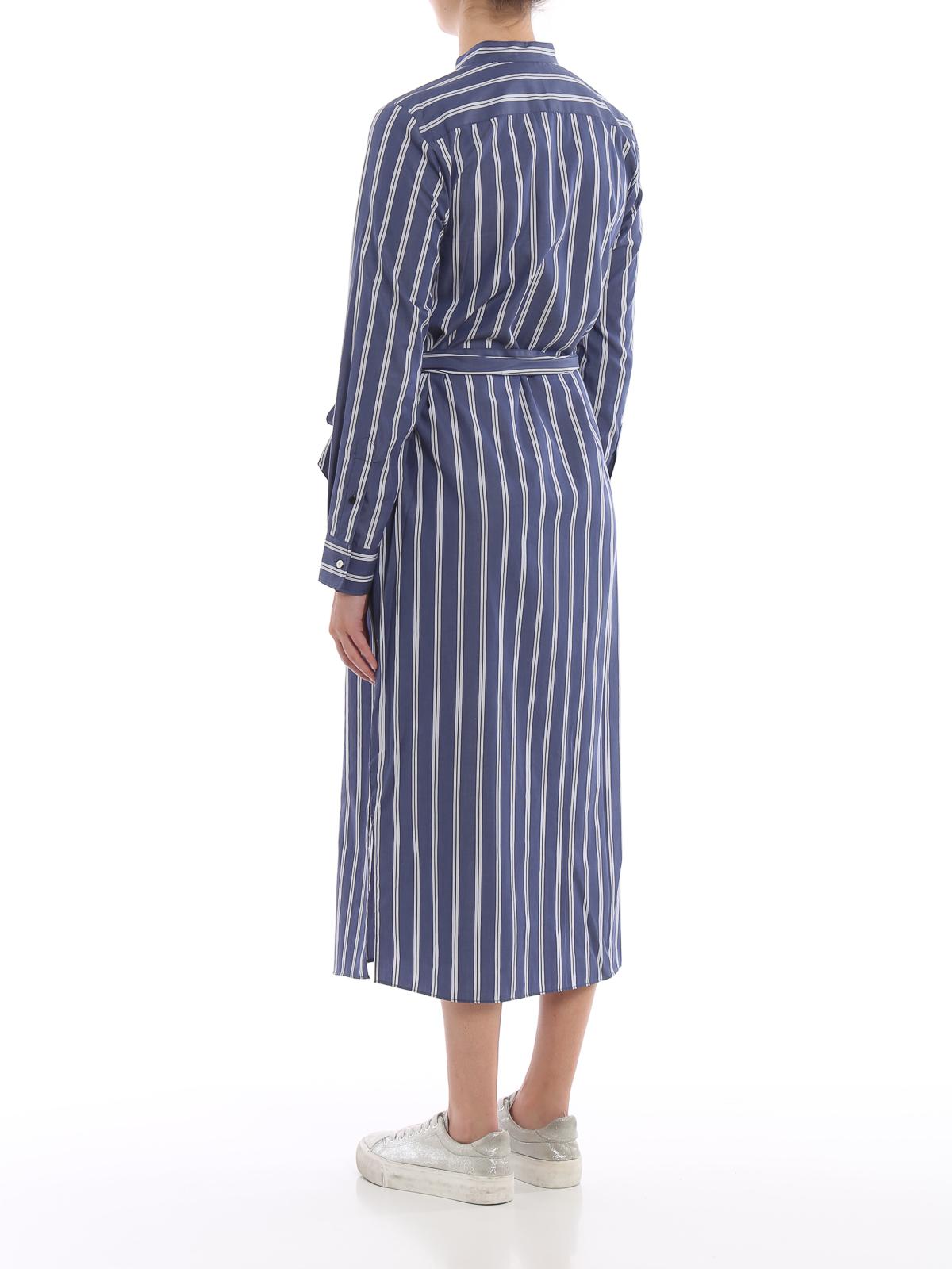selam-longsleeve-casual dress RALPH LAUREN | 11 | 200751199001BLUE/WHITE
