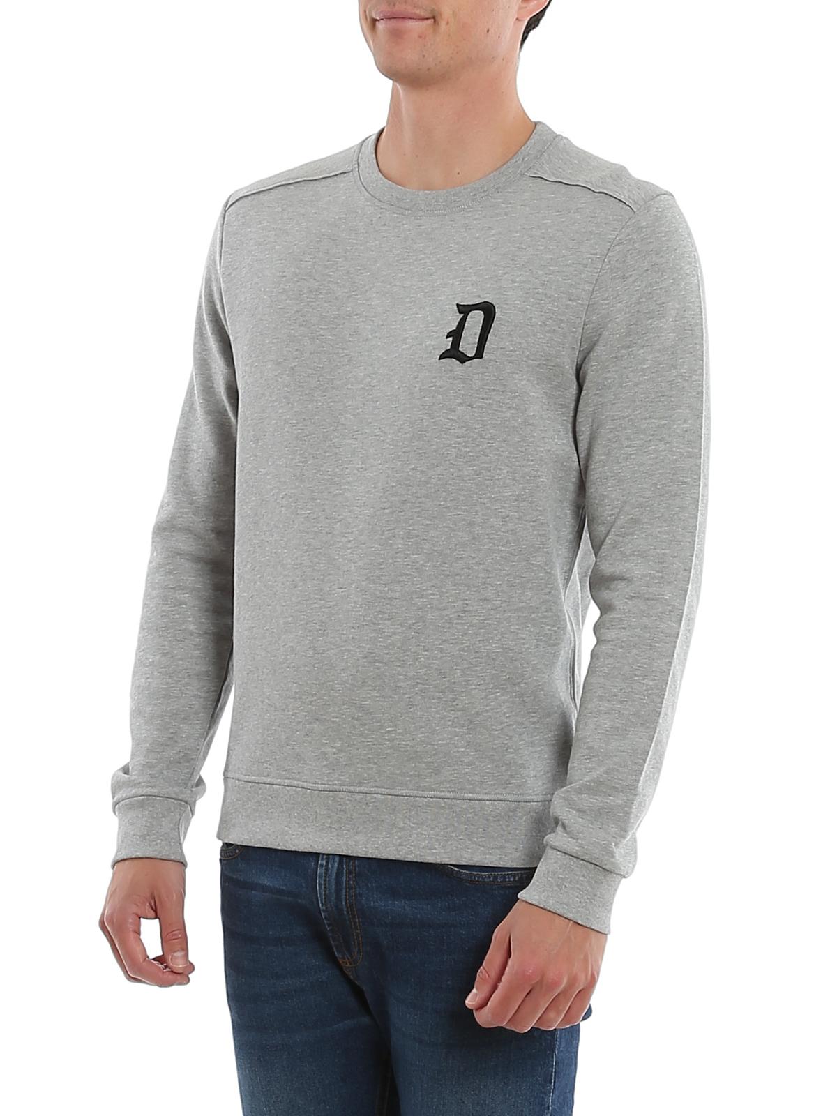 Embroidered cotton sweatshirt DONDUP | -108764232 | UF617KF0136UZD2DU903