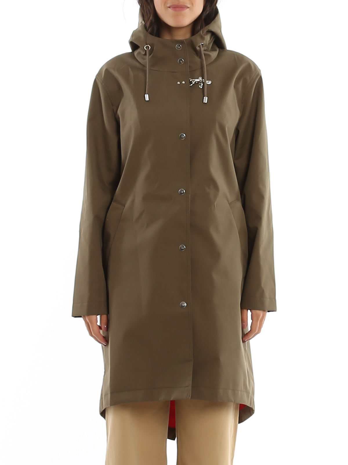 WATER REPELLENT HOODED PARKA FAY | 10000013 | NAW15403530RPB01PE