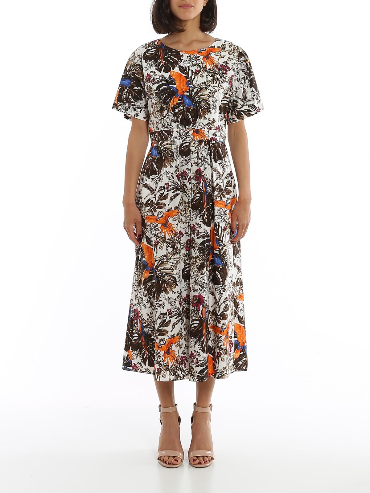 Cotton poplin dress MAX MARA | 11 | 622108016002