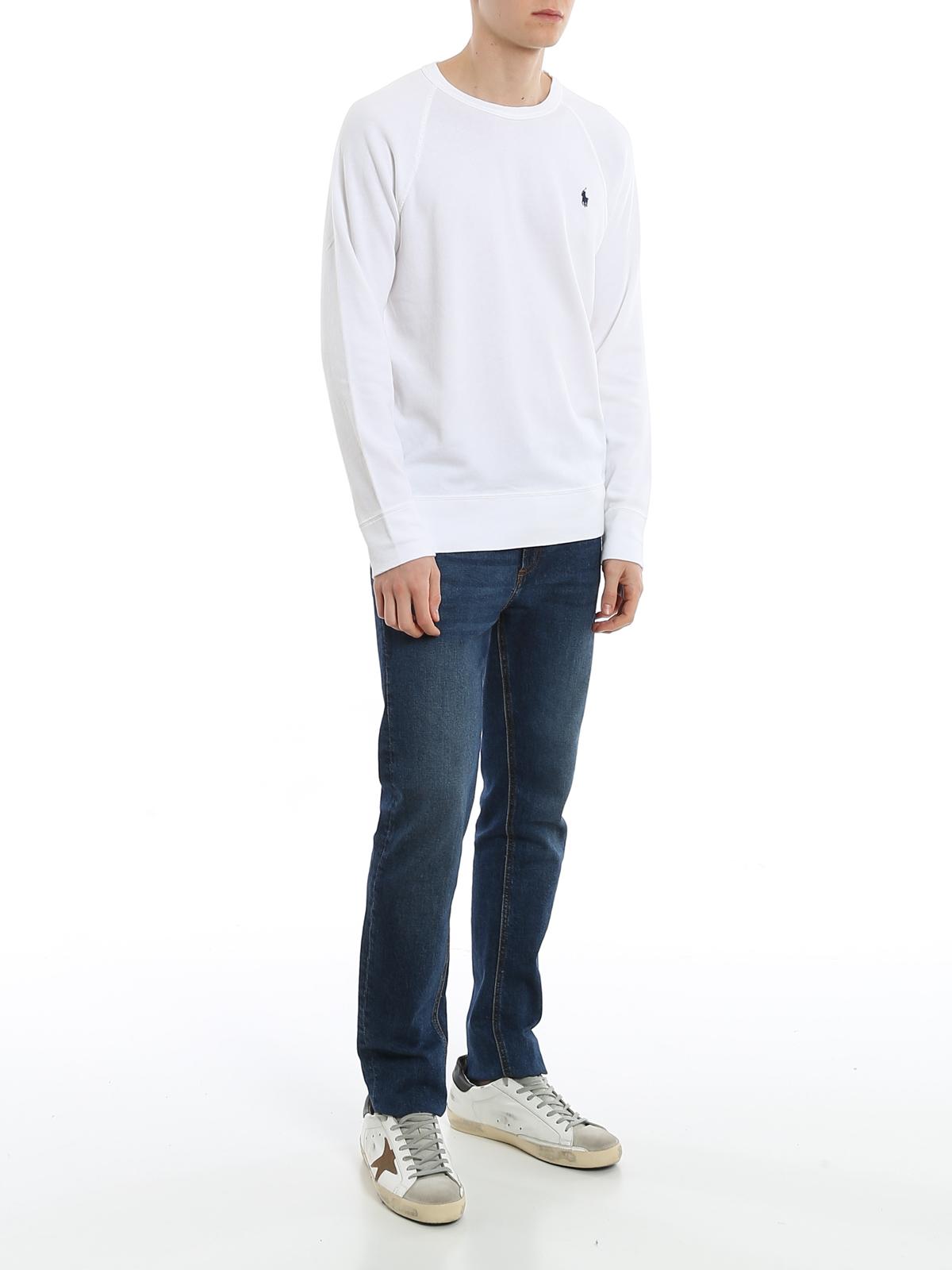 Raglan sleeve crew neck sweatshirt POLO RALPH LAUREN   -108764232   710644952011