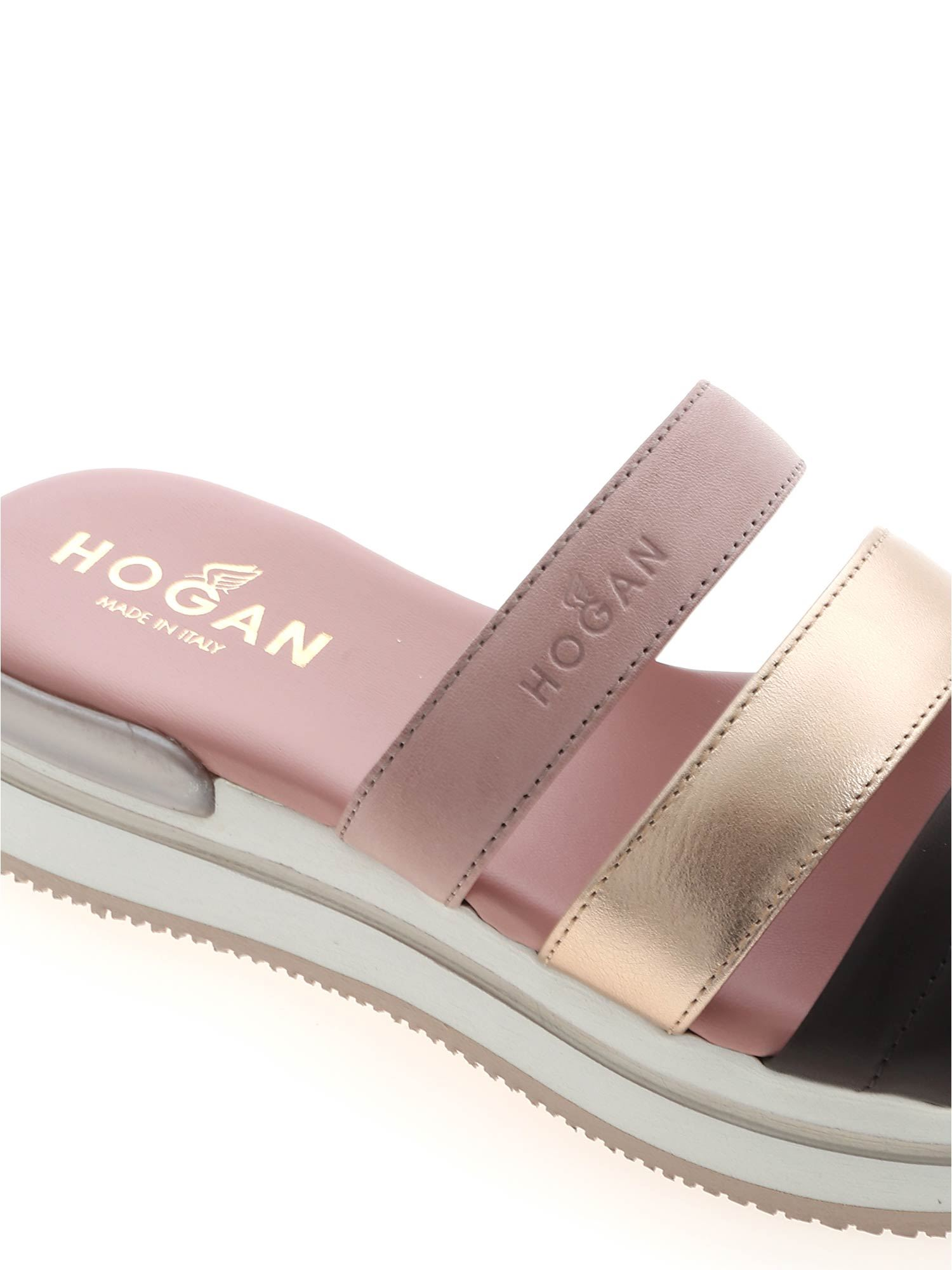 H257 SLIPPERS IN PINK