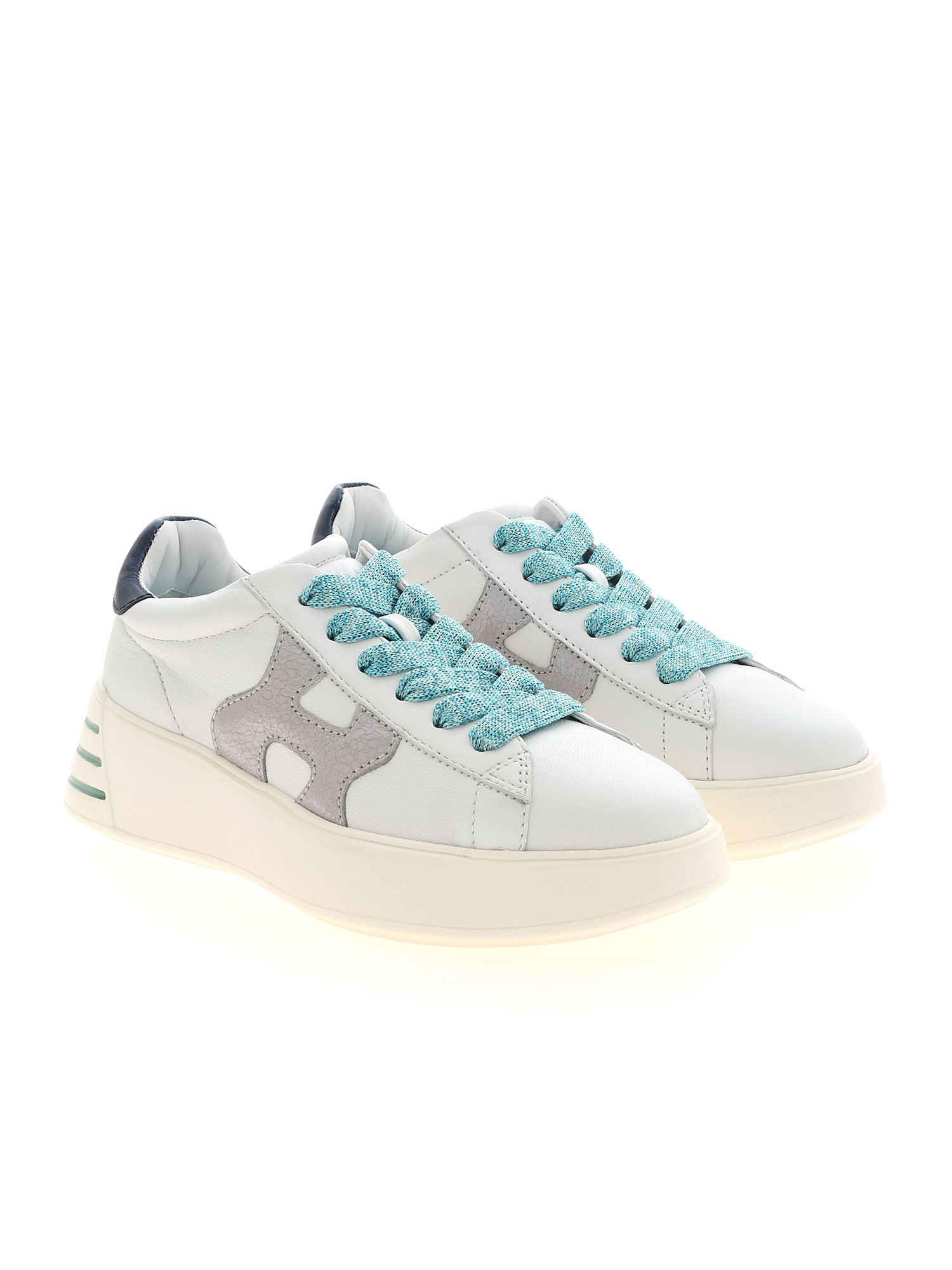 SNEAKERS REBEL H564 BIANCHE HXW5640DN60PK40RB1