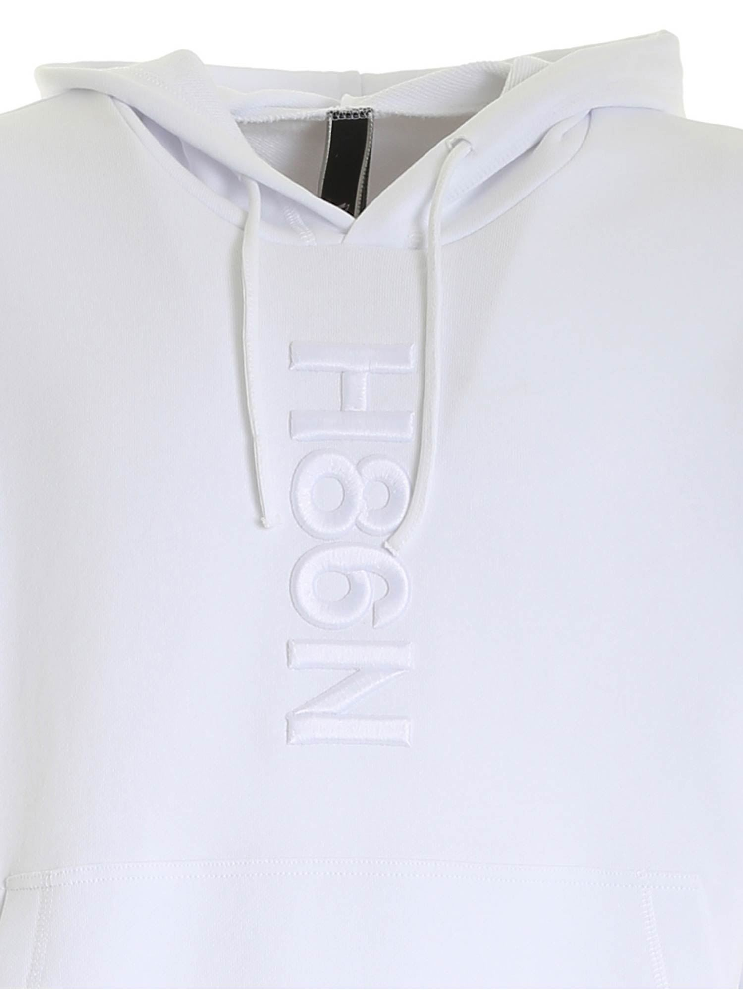 UNISEX WHITE SWEATSHIRT HOGAN | -108764232 | KQUB5423110RVSB001