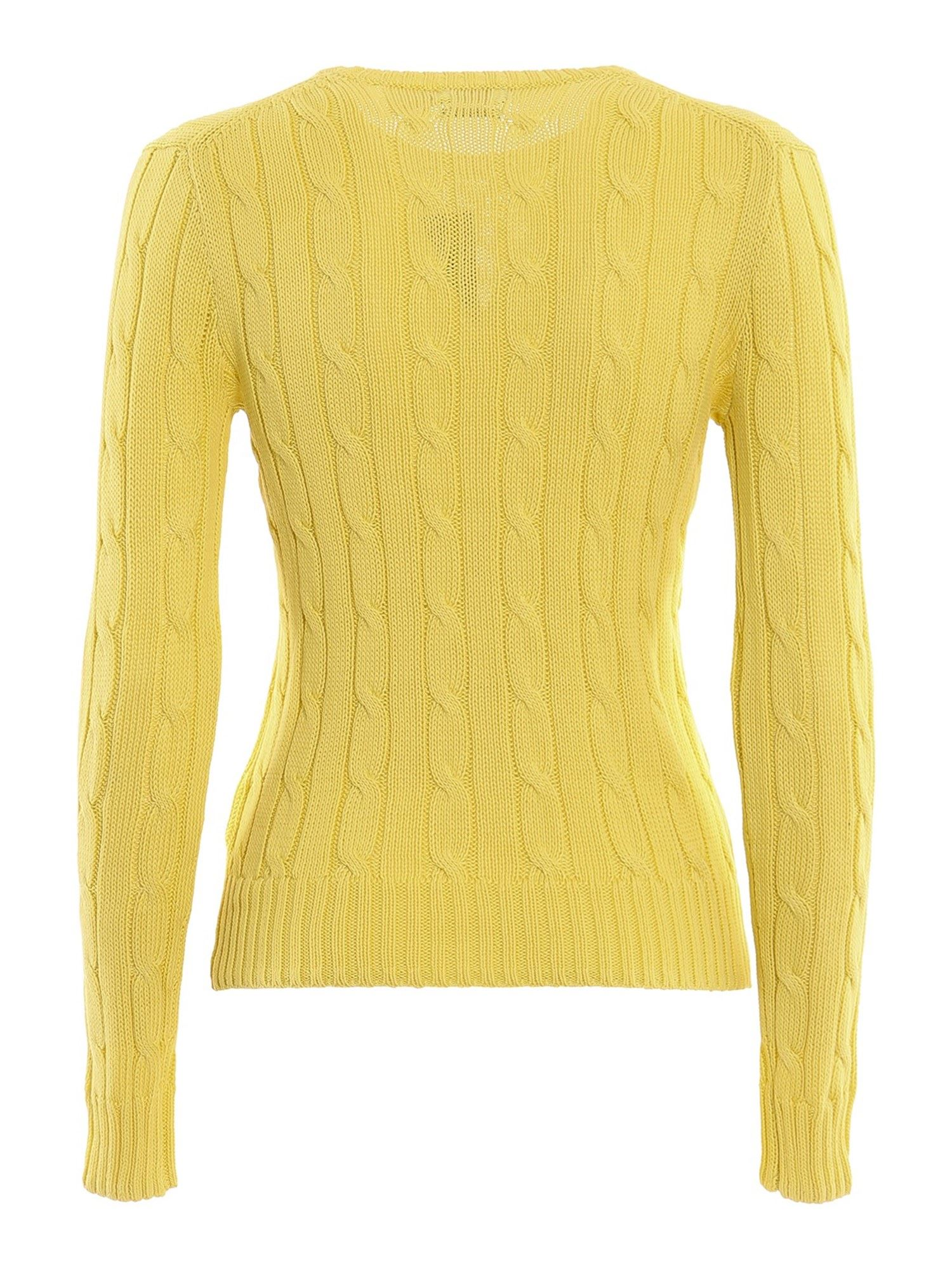 LOGO EMBROIDERY JUMPER IN YELLOW POLO RALPH LAUREN   -1384759495   211580009094