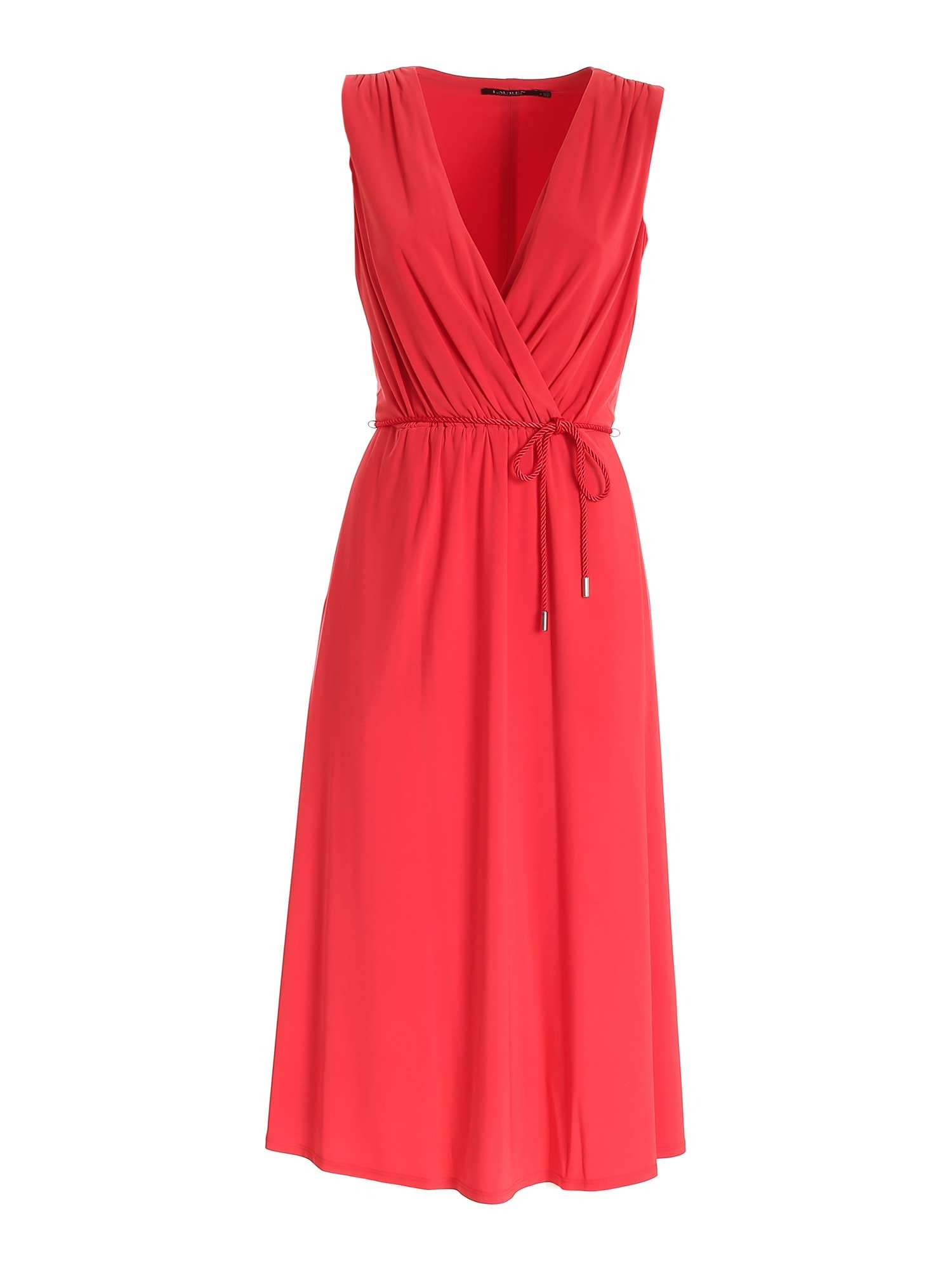 BELT DRESS IN RED POLO RALPH LAUREN | 11 | 250830125001
