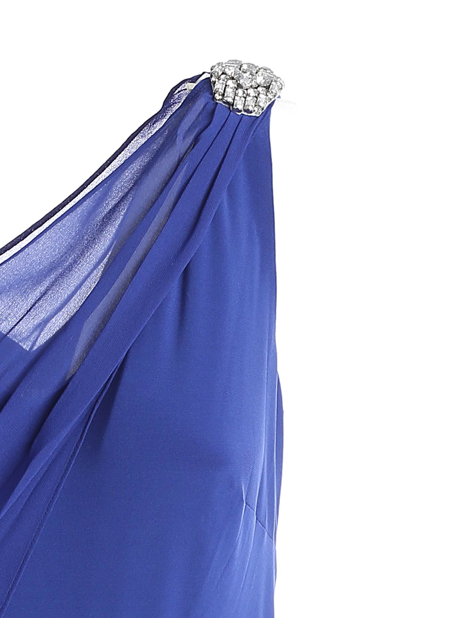 RHINESTONE DETAIL LONG DRESS IN BLUE POLO RALPH LAUREN   11   253830084002