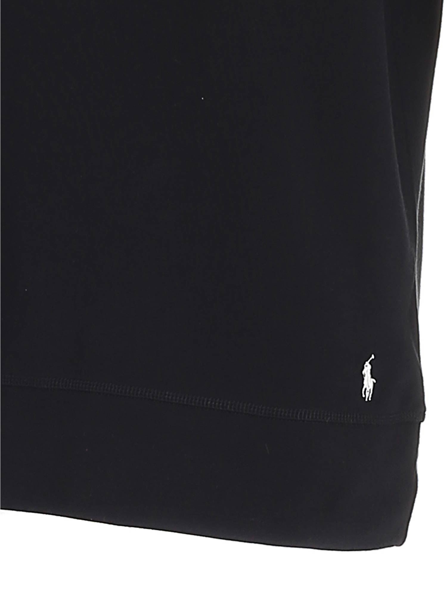 WHITE LOGO SWEATSHIRT IN BLACK POLO RALPH LAUREN | -108764232 | 714833977001