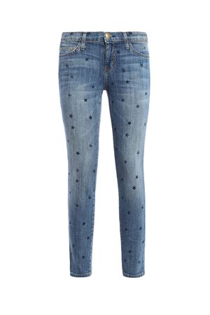 The Stiletto stars printed jeans CURRENT ELLIOTT | 40000001 | 1280-0147/NREVIV W/MINI NAVYST