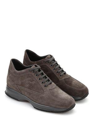 Sneaker Interactive in camoscio HOGAN | 5032238 | HXM00N09042HG0B611
