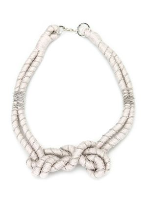 Embellished wool necklace PAOLO FIORILLO CAPRI | 35 | 2914 9000025
