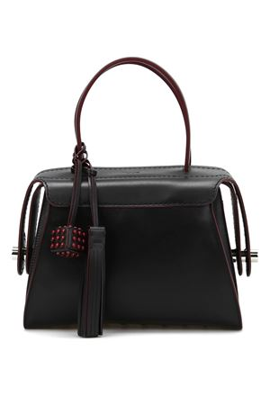 Twist leather small bowling bag TOD