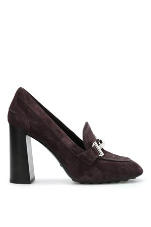 Double T suede pumps TOD