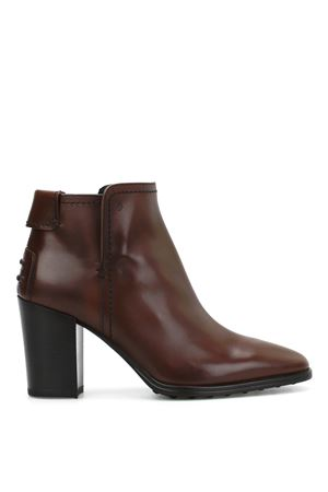 Leather booties TOD