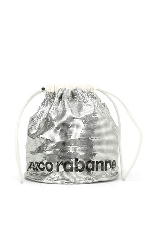 Reversible bucket bag PACO RABANNE | 70000001 | 16A1502OL1MESSISILVER