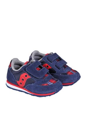 jazz hl baby SAUCONY | 5032238 | ST55570NAVY/RED/PLAID