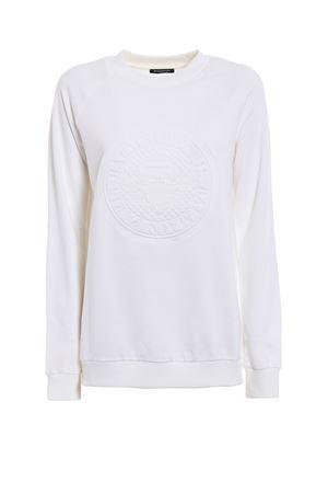 Embossed logo sweatshirt BALMAIN | -108764232 | 118593898MC0001