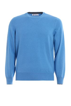 Wool cashmere and silk crewneck BRUNELLO CUCINELLI | 7 | M3600100CD694