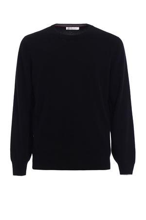 Girocollo in lana cashmere e seta BRUNELLO CUCINELLI | 7 | M3600100CH101