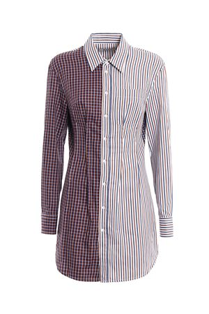Camicia lunga patchwork Fitzgerald DONDUP | 6 | C960EF086XXXXPDDUNI