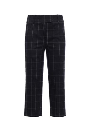 Ivy check pattern wool trousers DONDUP | 20000005 | DP030QS076DXXXPDD909