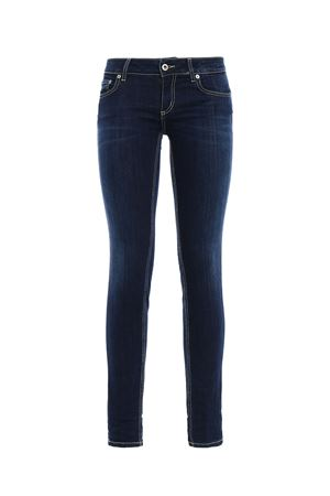 Jeans Lambda skinny a vita bassa DONDUP | 24 | P622DS112DP58PDH800