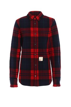 Check wool blend shirt DSQUARED2 | 6 | S72DL0514S48213001F