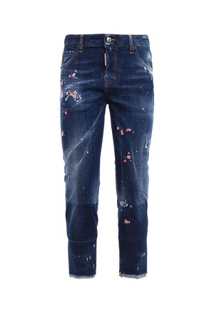 Cool Girl floral embroidered jeans DSQUARED2 | 20000005 | S72LA0994S30342470