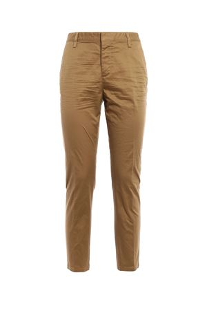 Cotton twill high waisted trousers DSQUARED2 | 20000005 | S75KA0777S39021168