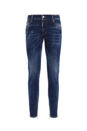 Twiggy zipped bottom jeans DSQUARED2 | 20000005 | S75LA0930S30595470