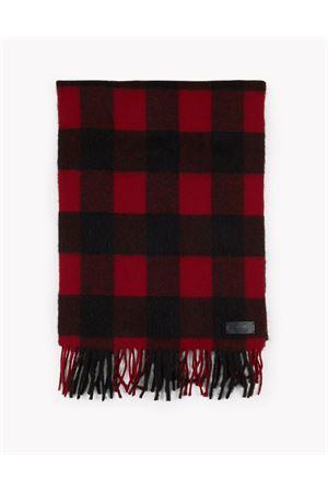 Sciarpa di flanella di lana con motivo a quadri Buffalo DSQUARED2 | 77 | W17SC40021354M039