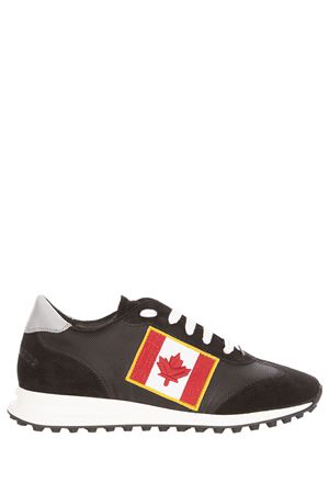 Sneakers New Runner Hiking con bandiera canadese DSQUARED2 | 5032238 | W17SN12014992124