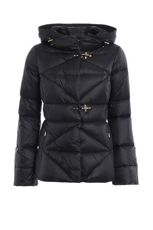 Quilted padded hooded jacket FAY | 783955909 | NAW32354170GOSB999