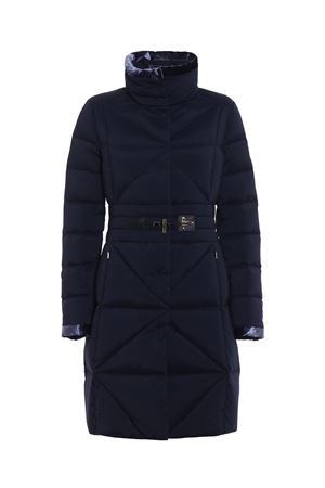 Frog detail fitted padded coat FAY | 783955909 | NAW3335403SNHIU808