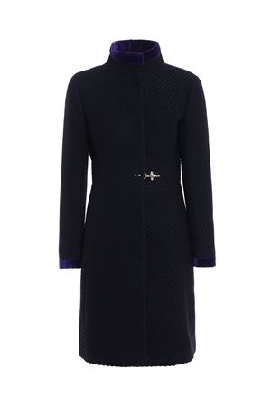 Two-tone jacquard wool blend coat FAY | 17 | NAW50353650OVW1993