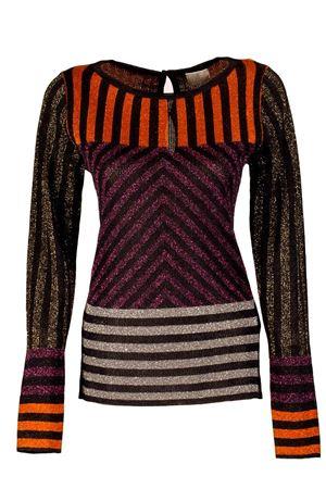 maglia girocollo con motivo lurex GOTHA | 7 | G47846MJ036