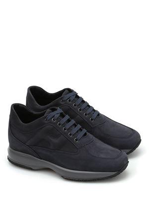 Sneaker Interactive in camoscio HXM00N00010DSCU215 HOGAN | 120000001 | HXM00N00010DSCU215