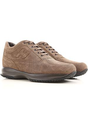 Sneaker Interactive in camoscio HXM00N09042HG0S413 HOGAN | 5032238 | HXM00N09042HG0S413