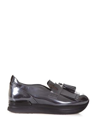 H222 metallic fringed loafers HOGAN | 5032263 | HXW2220Z0801ONB401