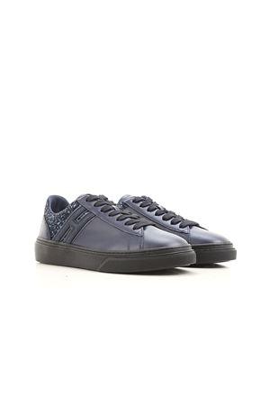 H340 low top glitter sneakers HOGAN | 5032238 | HXW3400J250HSC0ZPI