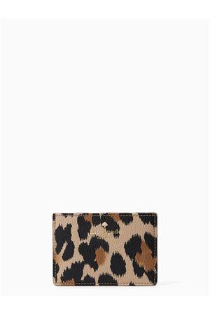 Porta carte di credito Hyde Lane Leopard KATE SPADE | 10000005 | PWRU5982222