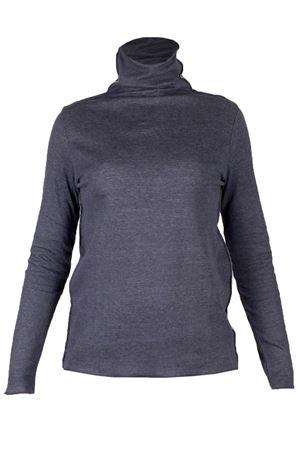 Cotton cashmere turtleneck T-shirt MAJESTIC | 7 | 1018097