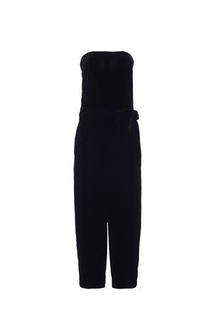 Velvet strapless jumpsuit MCQ ALEXANDER MCQUEEN | 11 | 422455RIF361000
