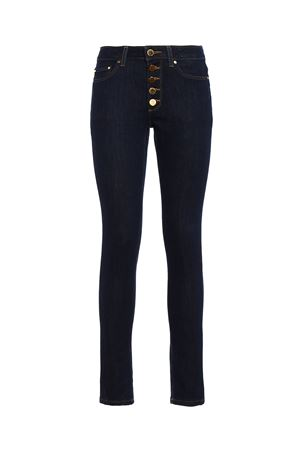 Gold-tone button slim jeans MICHAEL DI MICHAEL KORS | 24 | MF79CMH4V6402